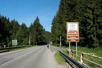 Photo: Do Terchovej mamy około 8 km.
