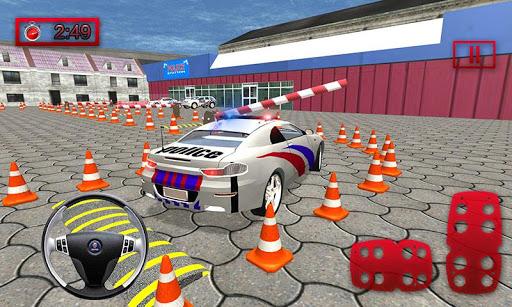 Police Car Parking Mania 3D Simulation filehippodl screenshot 1