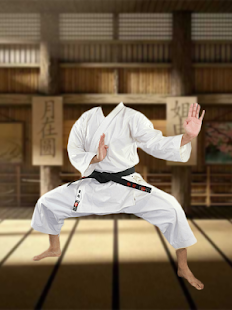Karate Photo Frame Editor - náhled