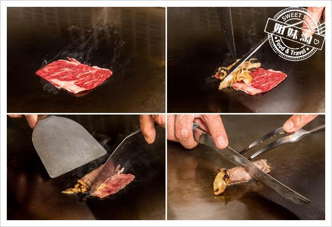 家蒂諾鐵板燒溫莎花園美國prime牛肉卷