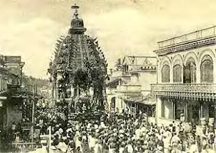 Photo: Parthasarathy temple - Car festival