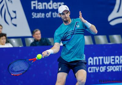 Andy Murray ontsnapt deze keer niet en verliest van tweevoudig finalist op de European Open