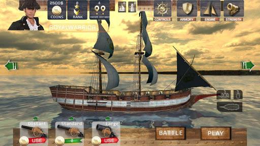 Online Battles : Warship Simulator  captures d'u00e9cran 2