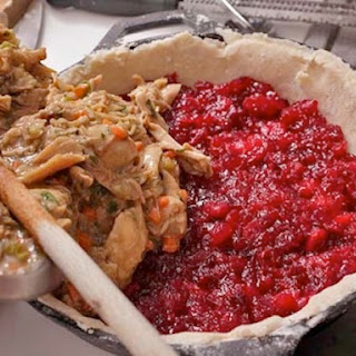 Turkey and Cranberry Pie.
