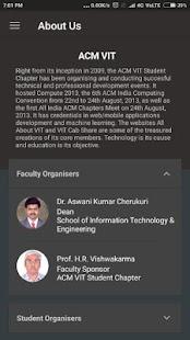 Code2Create - ACM VIT screenshot