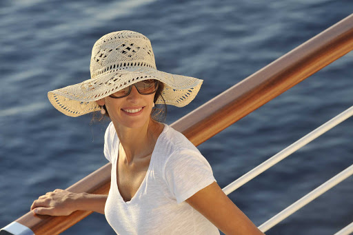 Ponant-woman-solo.jpg - See the world in style on a Ponant luxury expedition cruise.