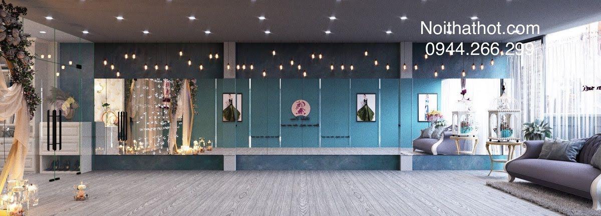 thiết kế phòng tập múa đẹp nhất hà nội
