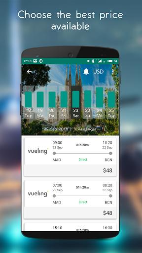 Cheap Flights Scanner 2.0.2 screenshots 6