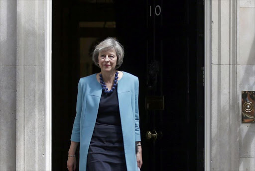 Theresa May. Picture: REUTERS/PETER NICHOLLS