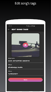 Edge Music Player S10/ S10+ and Note 20 style Screenshot