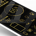 Lines Gold - Icon Pack (Pro Version) icon