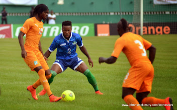 Photo: Mustpaha Dumbuya [Leone Stars v Ivory Coast, 6 September 2014 (Pic © Darren McKinstry / www.johnnymckinstry.com)]
