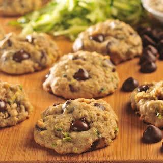 Zucchini-Oat Dark Chocolate Chip Cookies.