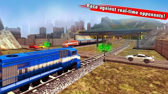 Train Racing Games 3D 2 Player 2