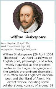 101 Great Saying by Shakespear screenshot 0