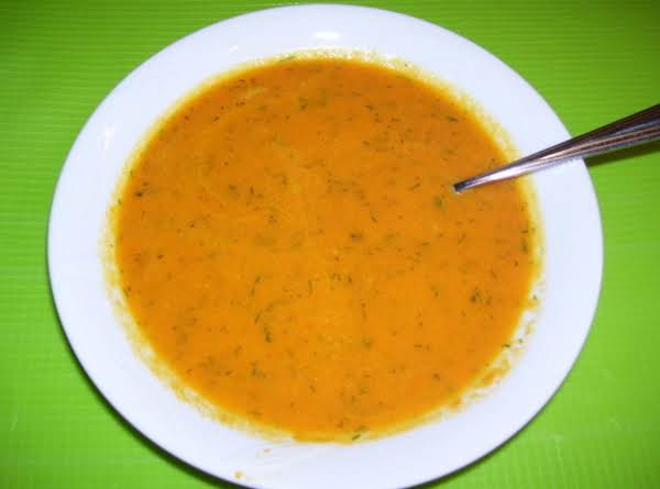 Carrot-dill Soup