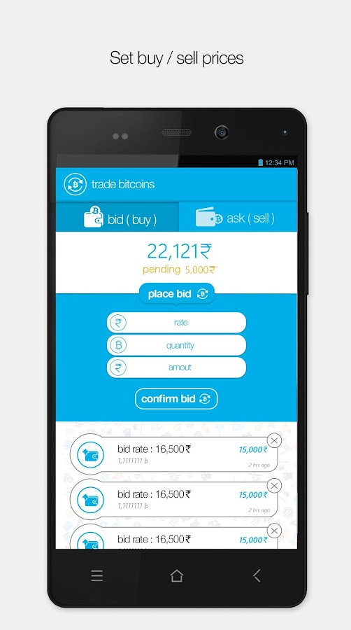 Zebpay Bitcoin India- screenshot