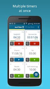 Multi Timer StopWatch - náhled