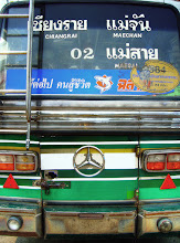 Photo: Thai Bus #fourwheeledfriday  Photography by Justin Hill ©