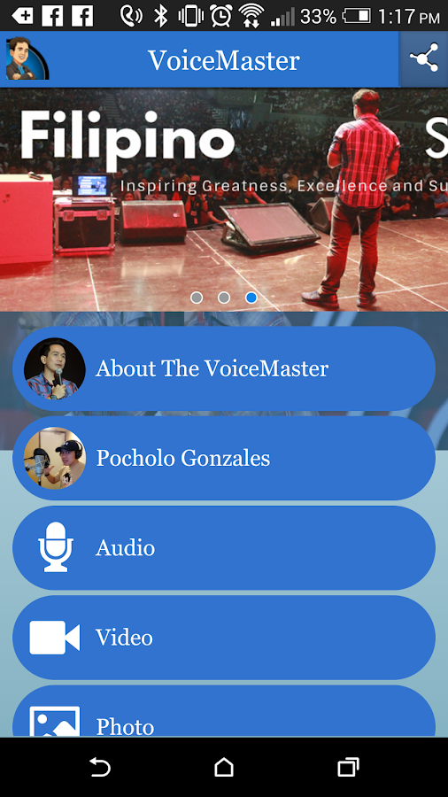 VoiceMaster- screenshot