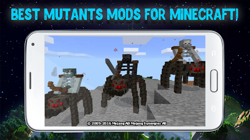 Mutants mods for Minecraft 2.3.28 screenshots 1