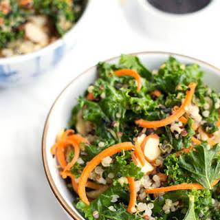 Asian Kale Quinoa Salad.