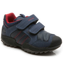 Geox Savage Boy Trainer KID VELCRO