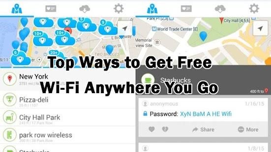 Find Free Internet - náhled