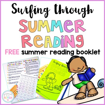 summer reading activities for kids - free summer reading booklet