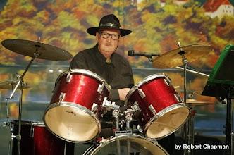 "Photo: Terry ""Wayne"" Davies (guest drummer)"