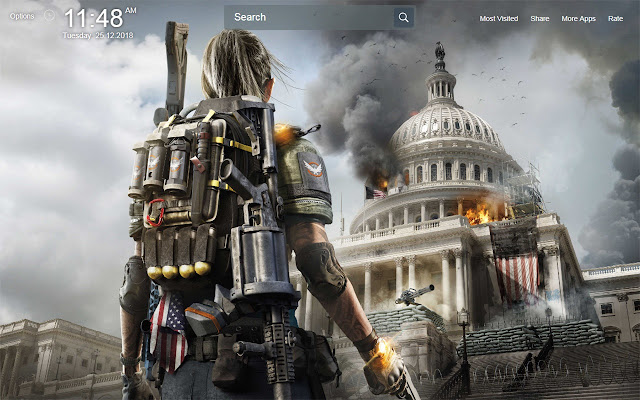 Tom Clancys The Division 2 Wallpapers New