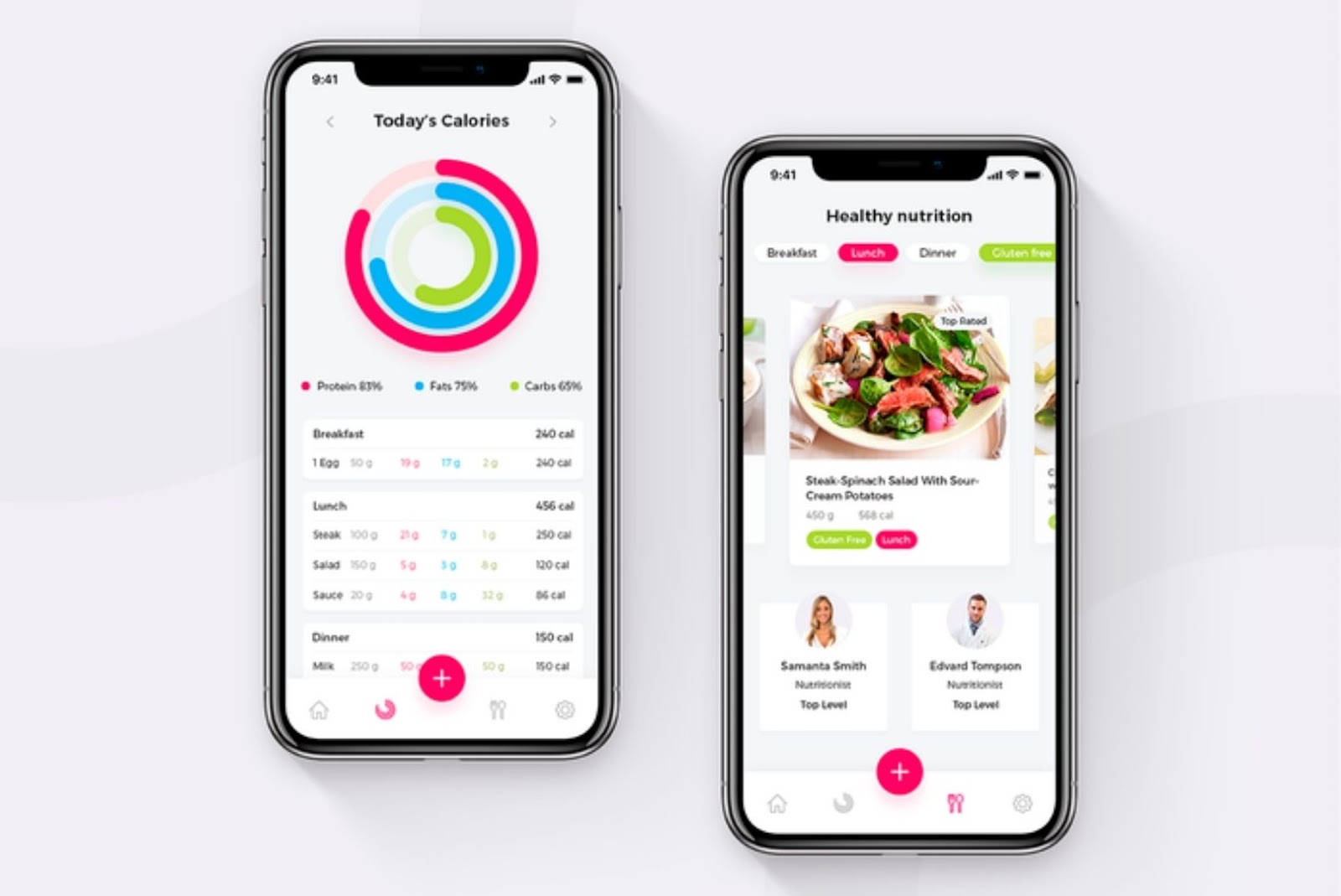 App idea nutritional details of a dish or a food item