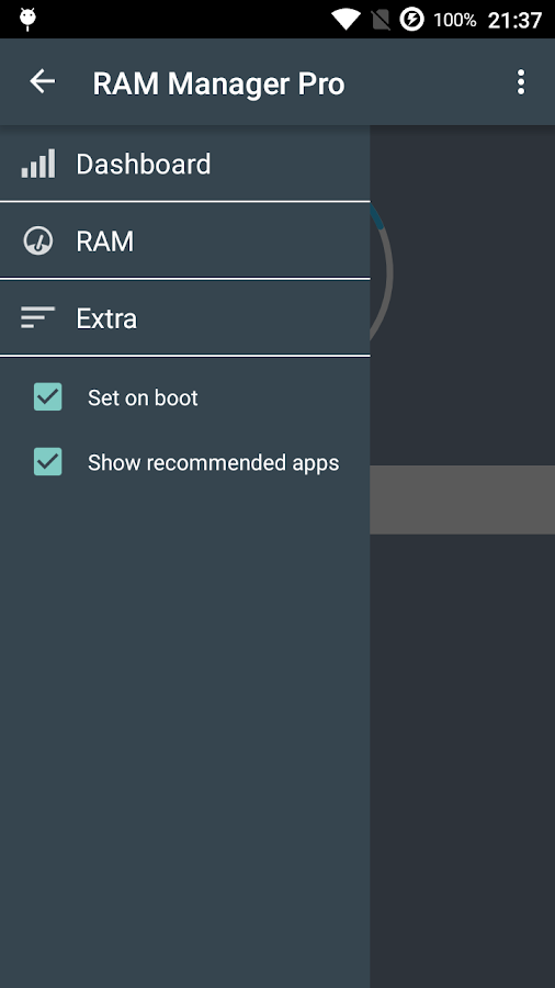 RAM Manager Pro- screenshot