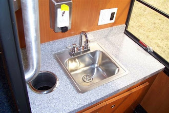Photo: A sink with running water!