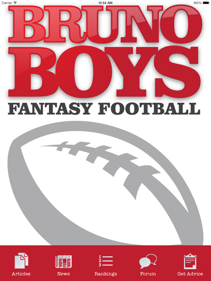 Bruno Boys Fantasy Football- screenshot