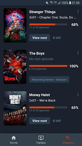Moviebase: Discover Movies & Track TV Shows screenshot 1