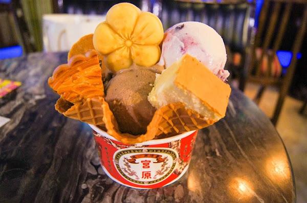 台中市第四信用合作社 -- 宮原眼科冰淇淋