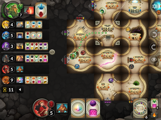 Screenshot for Gem Rush Board Game in United States Play Store