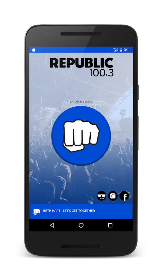 Republic Radio- screenshot