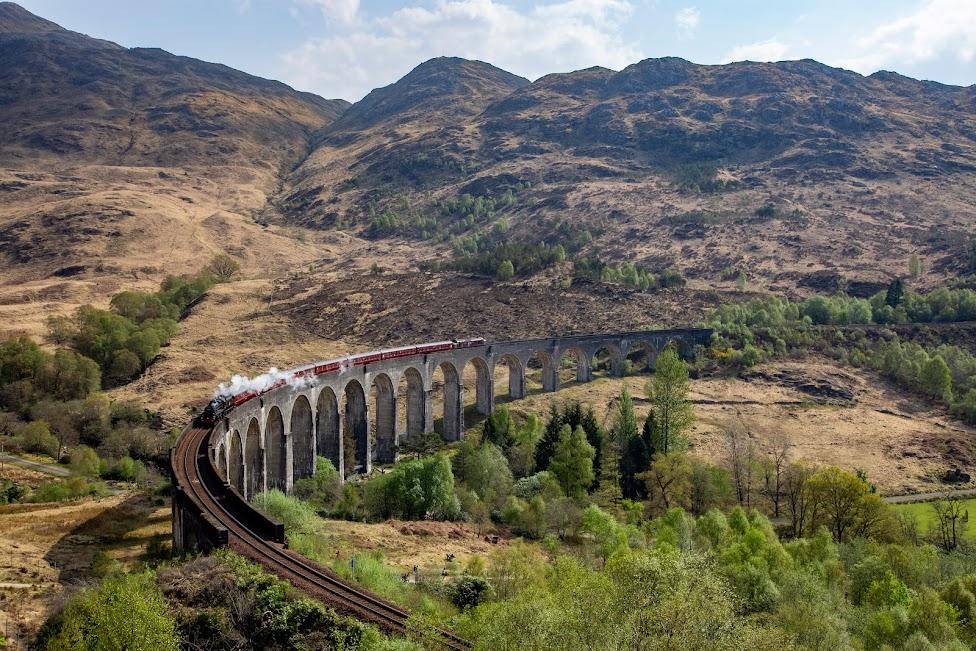 wiadukt Glenfinnan, Szkocja plan podróży