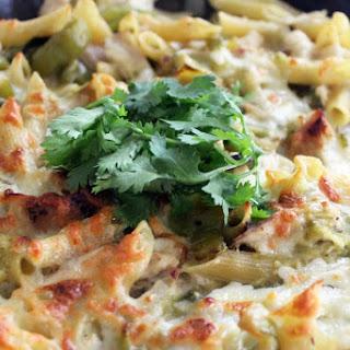 Easy Verde Skillet Pasta Bake