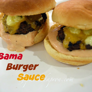 Take-out Tuesday, Bama Burger Sauce.