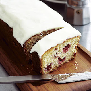 Raspberry Yogurt Loaf