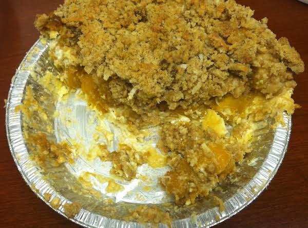 Pineapple-mango Coconut Pie (taste Of The Tropics) Recipe