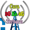 Cara 3G Ke 4G Terbaru icon