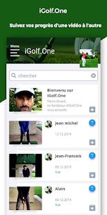 Download iGolf.One - Analyse de votre Swing par un Pro For PC Windows and Mac apk screenshot 4