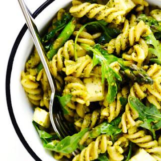 Pistachio Pesto Pasta Salad.