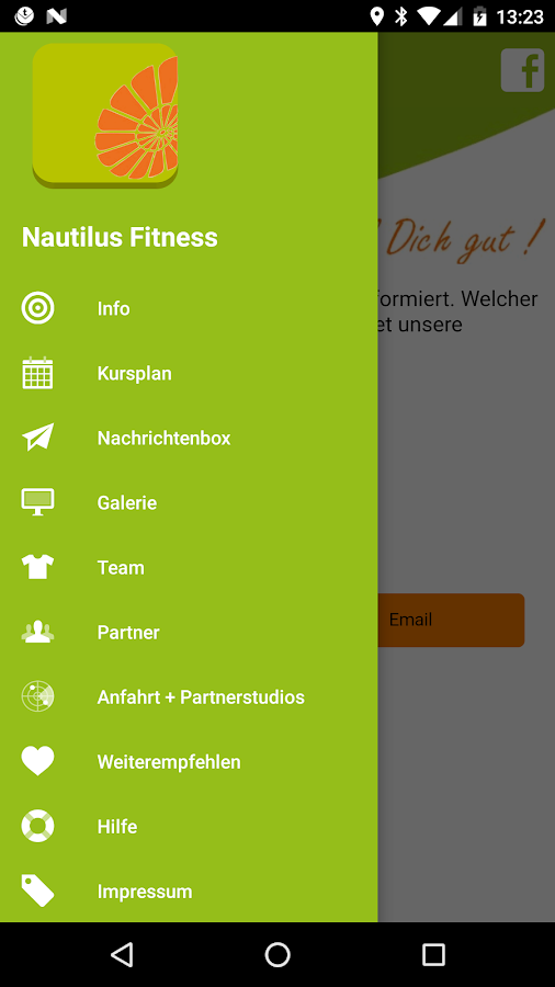 Nautilus Fitness- screenshot