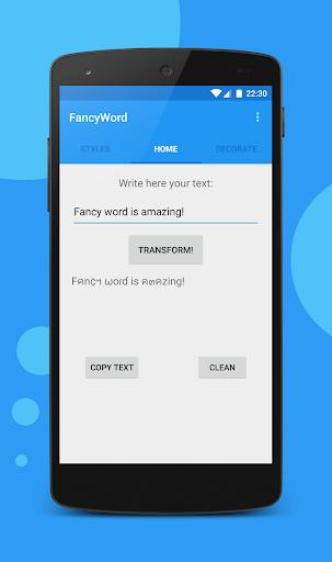 Fancy Word - Stylish Text