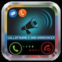 Say Caller name Announcer icon